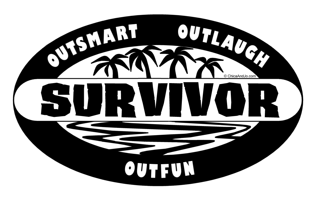 Chica_And_Jo_Survivor_Logo_Black