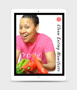 iPad Clean Eating Manifesto Cover